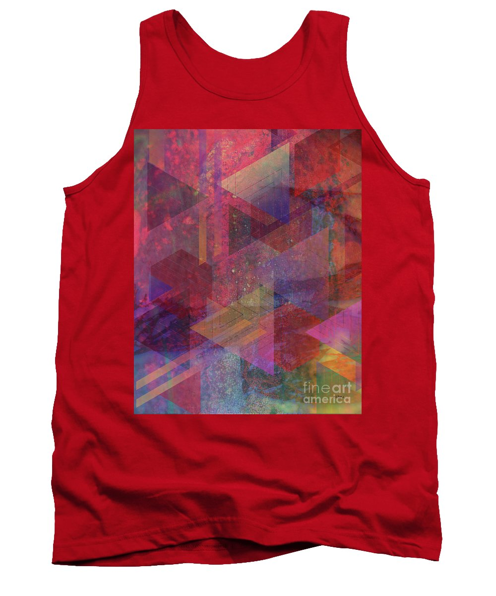Another Place Tank Top featuring the digital art Another Place by John Beck