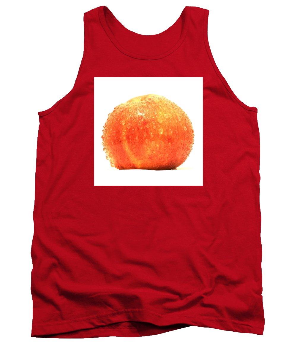 Apple Tank Top featuring the painting Apple Red by Ruslan Kayumov