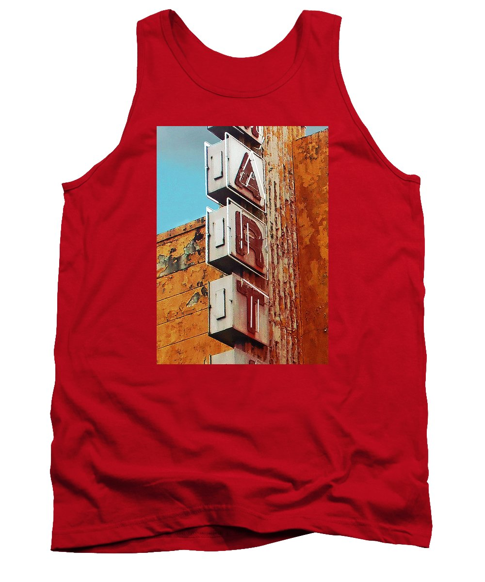 Art Tank Top featuring the photograph Art Of Decay by Little Bunny Sunshine