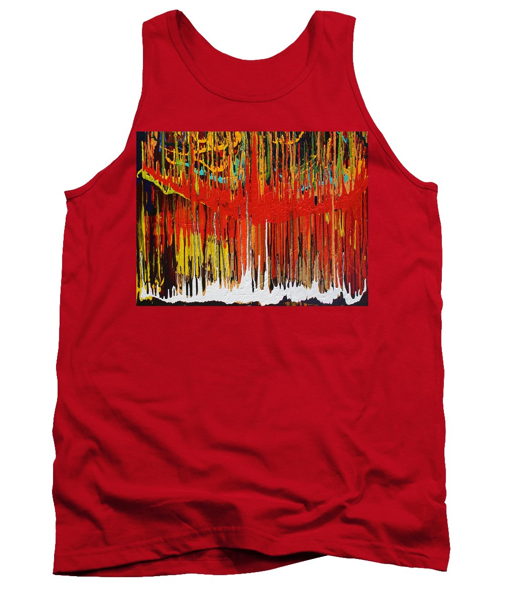 Fusionart Tank Top featuring the painting Ascension by Ralph White