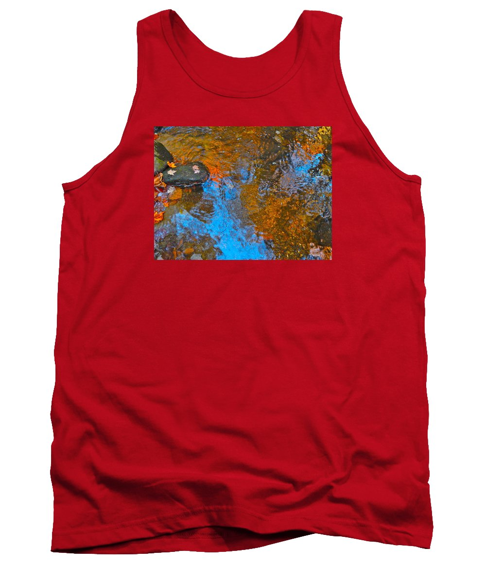 Nature Tank Top featuring the photograph Autumn 2015 117 by George Ramos