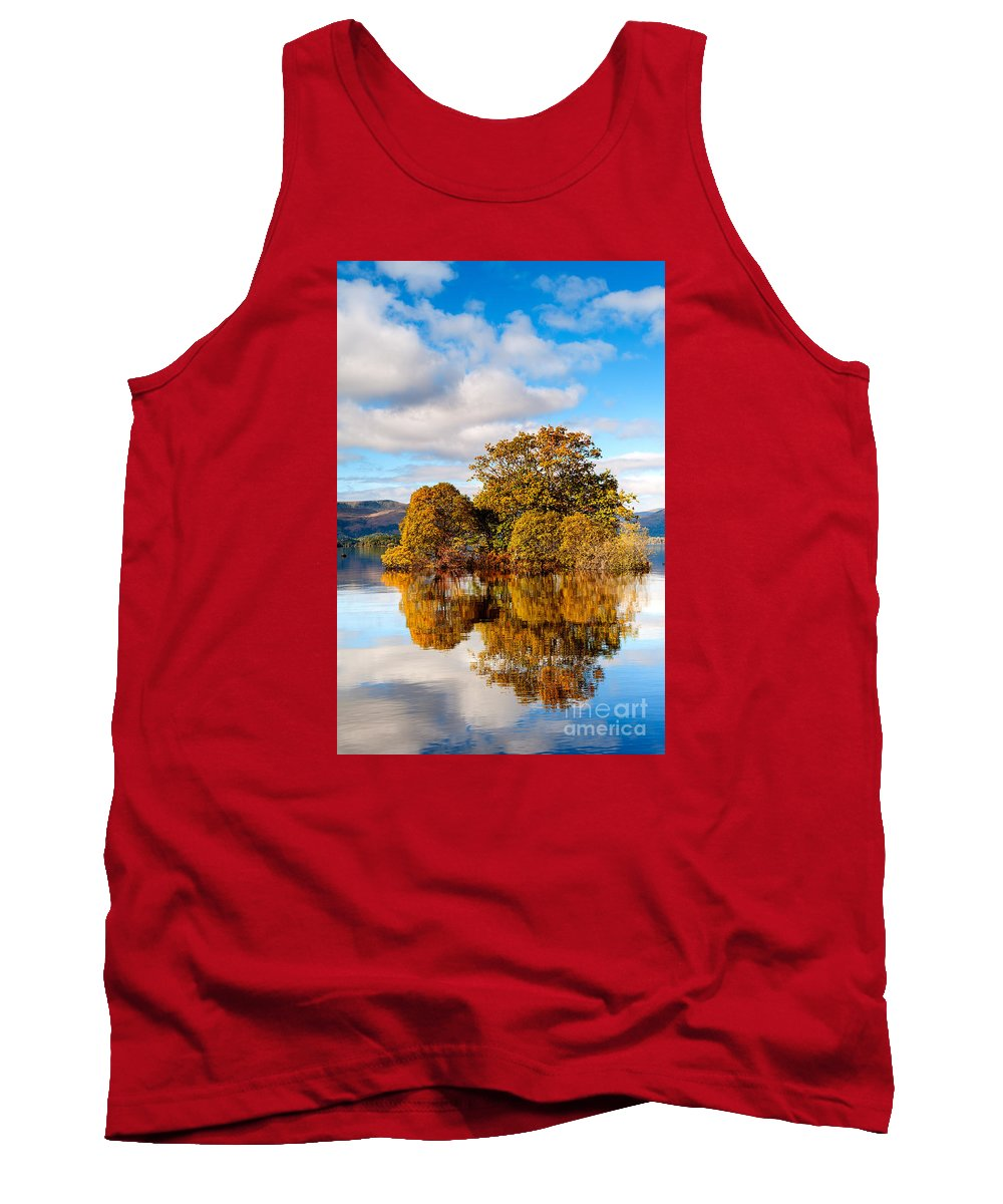 Autumn Tank Top featuring the photograph Autumn At Milarrochy Bay by Richard Burdon