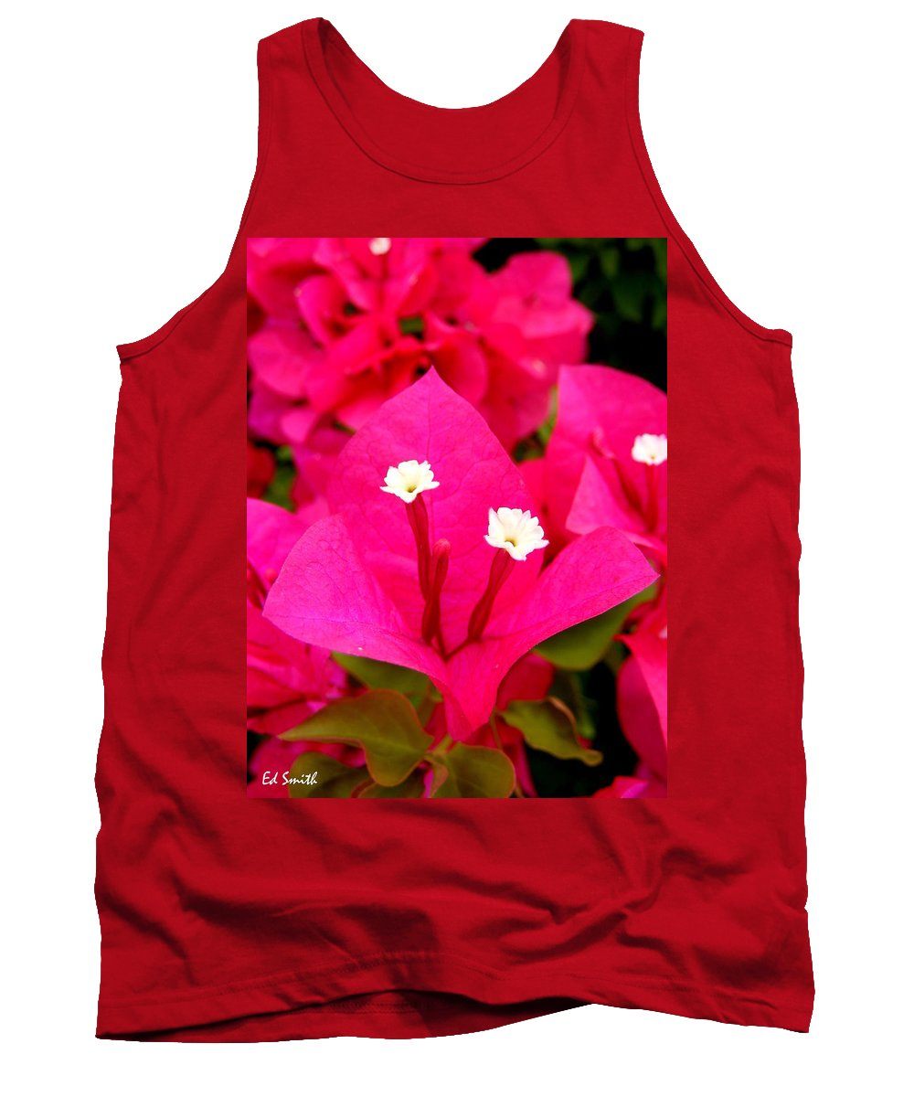 Baby Sisters Tank Top featuring the photograph Baby Sisters by Ed Smith
