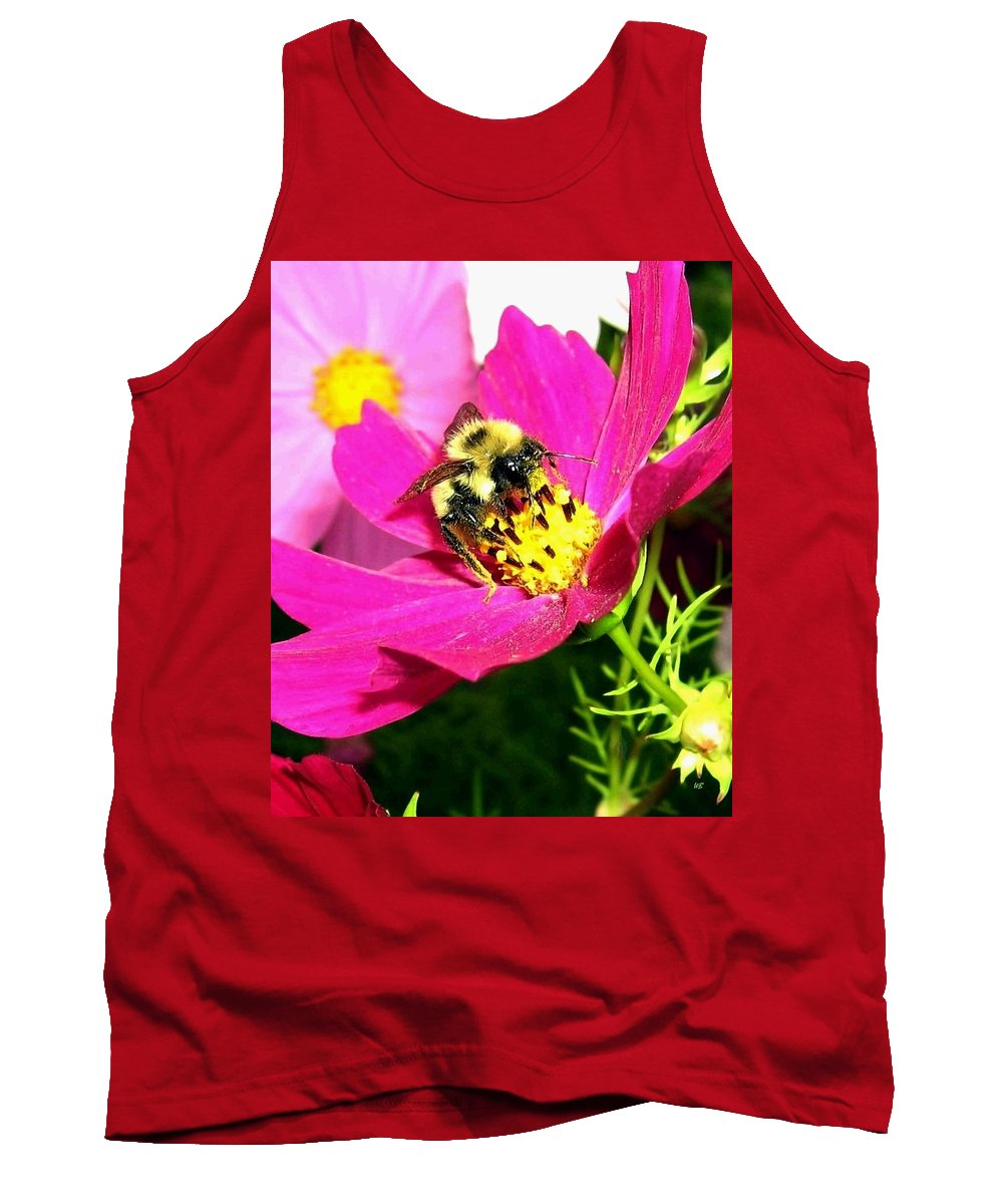 Bee Tank Top featuring the photograph Bee-line 3 by Will Borden