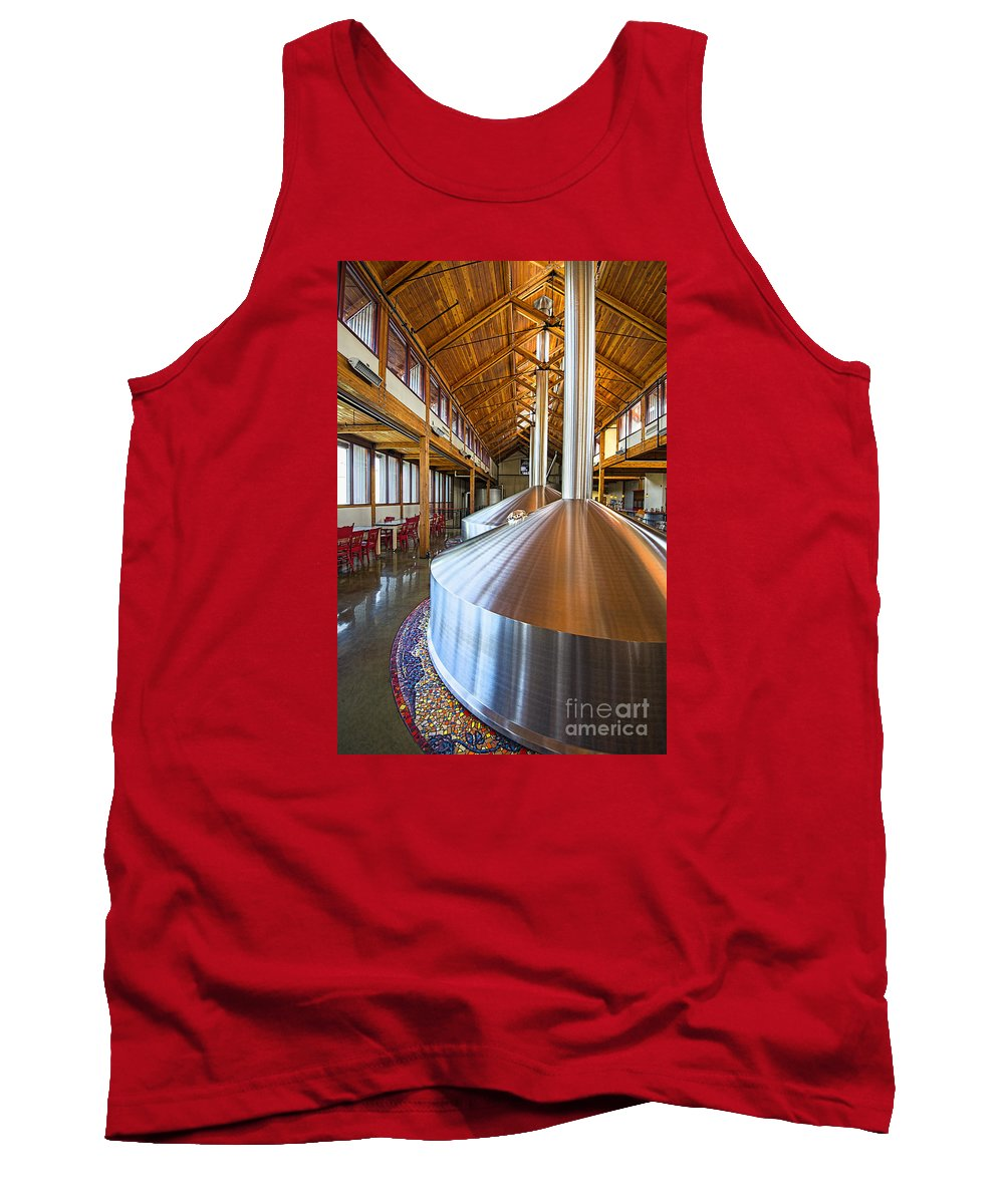 New Belgium Brewery Tank Top featuring the photograph Belgium Tasting Room by Keith Ducker