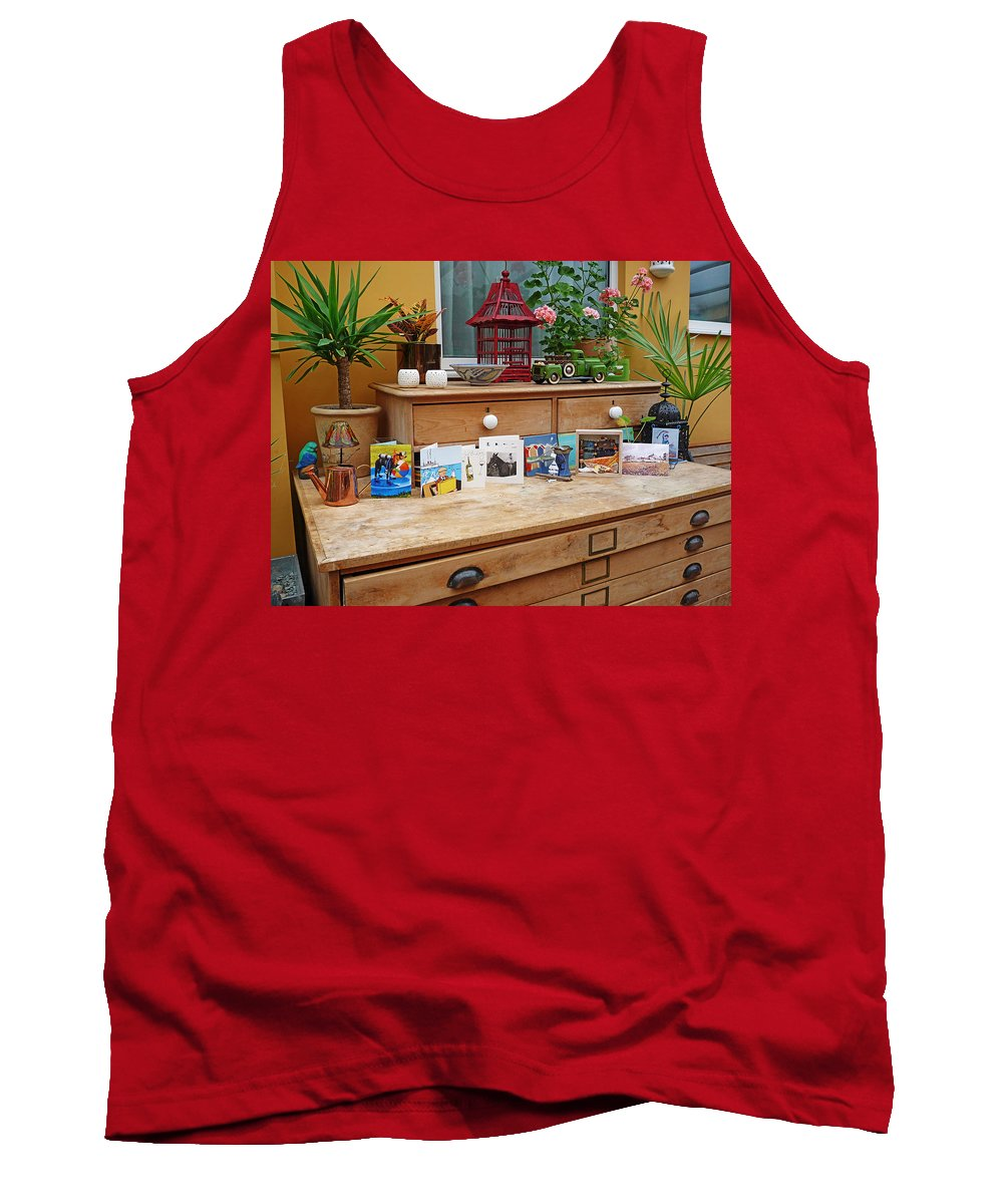 Birthday Tank Top featuring the photograph Birthday Boy by Charles Stuart