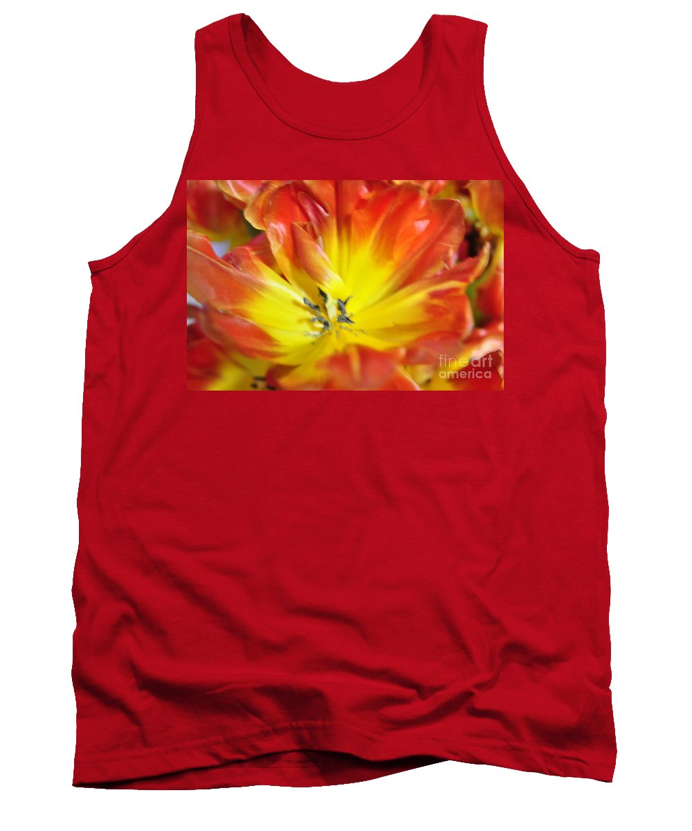 Flower Tank Top featuring the photograph Blossom by Vicky Tubb