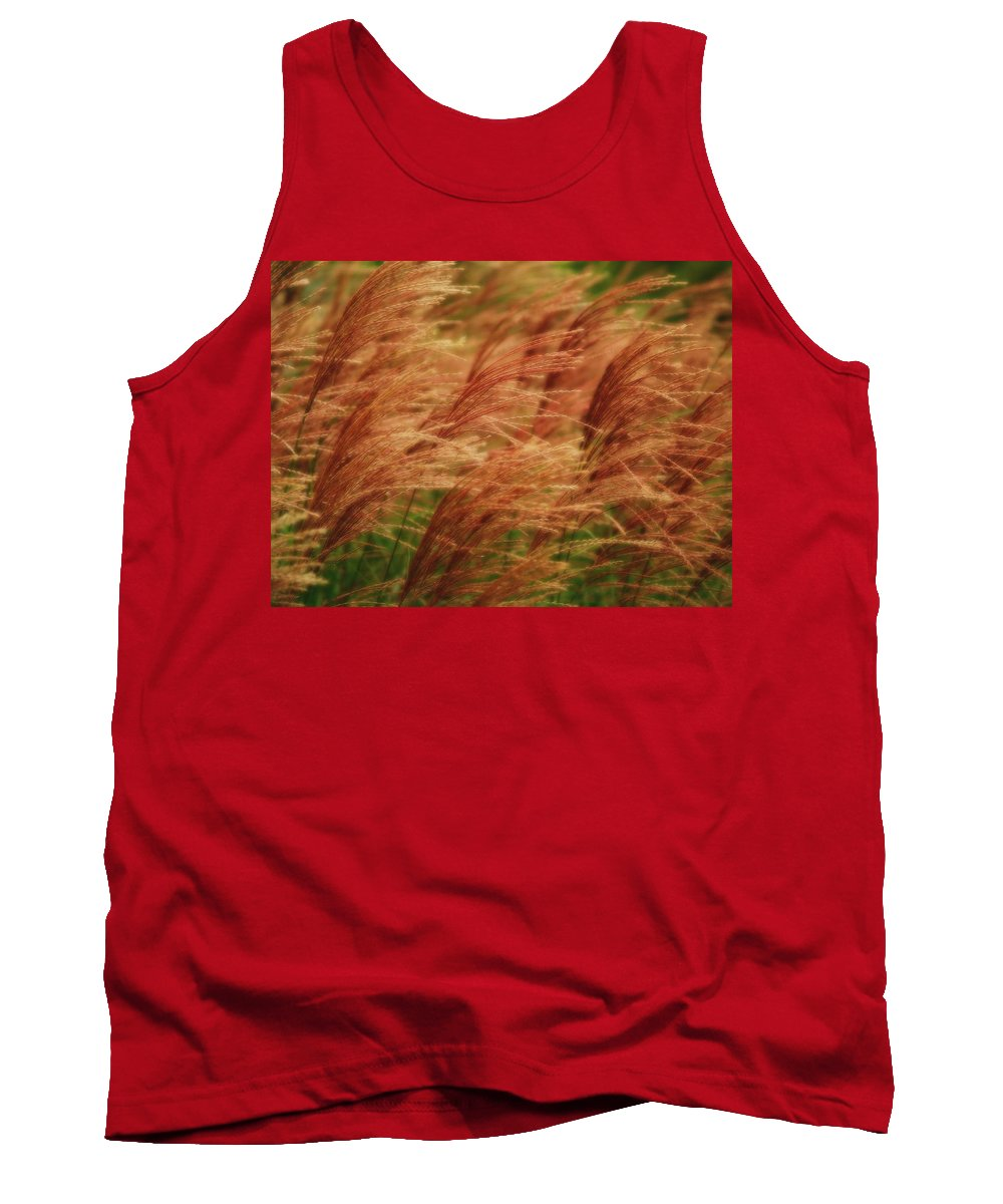 Win Tank Top featuring the photograph Blowing In The Wind by Gaby Swanson