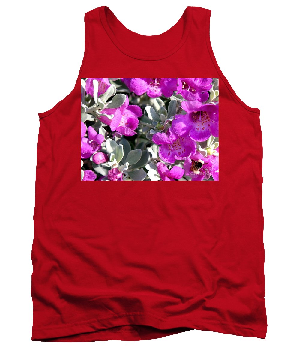 Nature Tank Top featuring the photograph Bottoms Up by Lucyna A M Green
