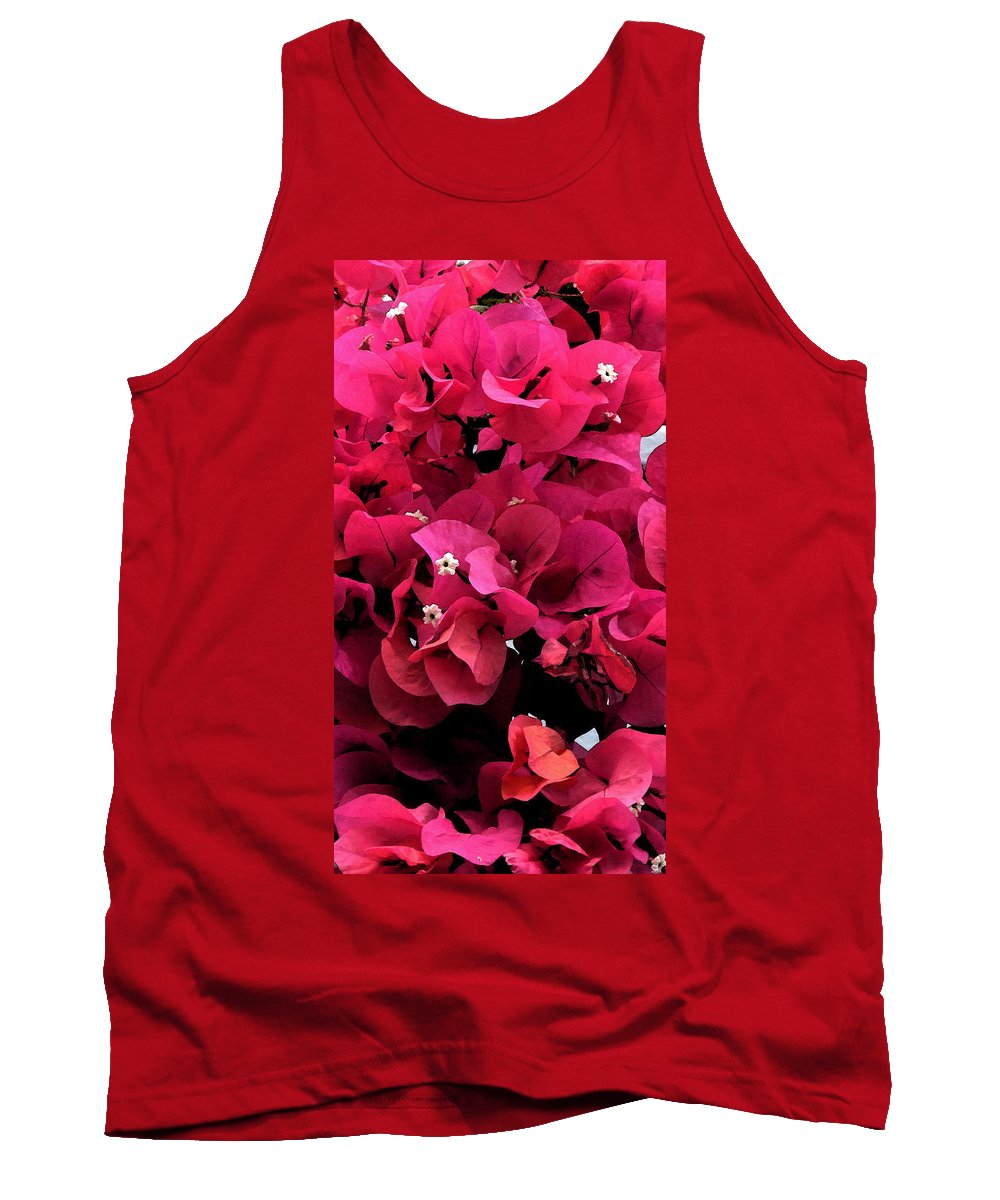 Flower Tank Top featuring the photograph Bougainvillia by Ian MacDonald