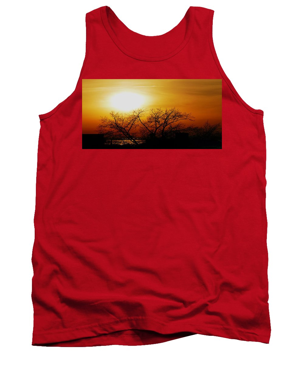 Landscape Tank Top featuring the photograph Branches by Kendall Eutemey