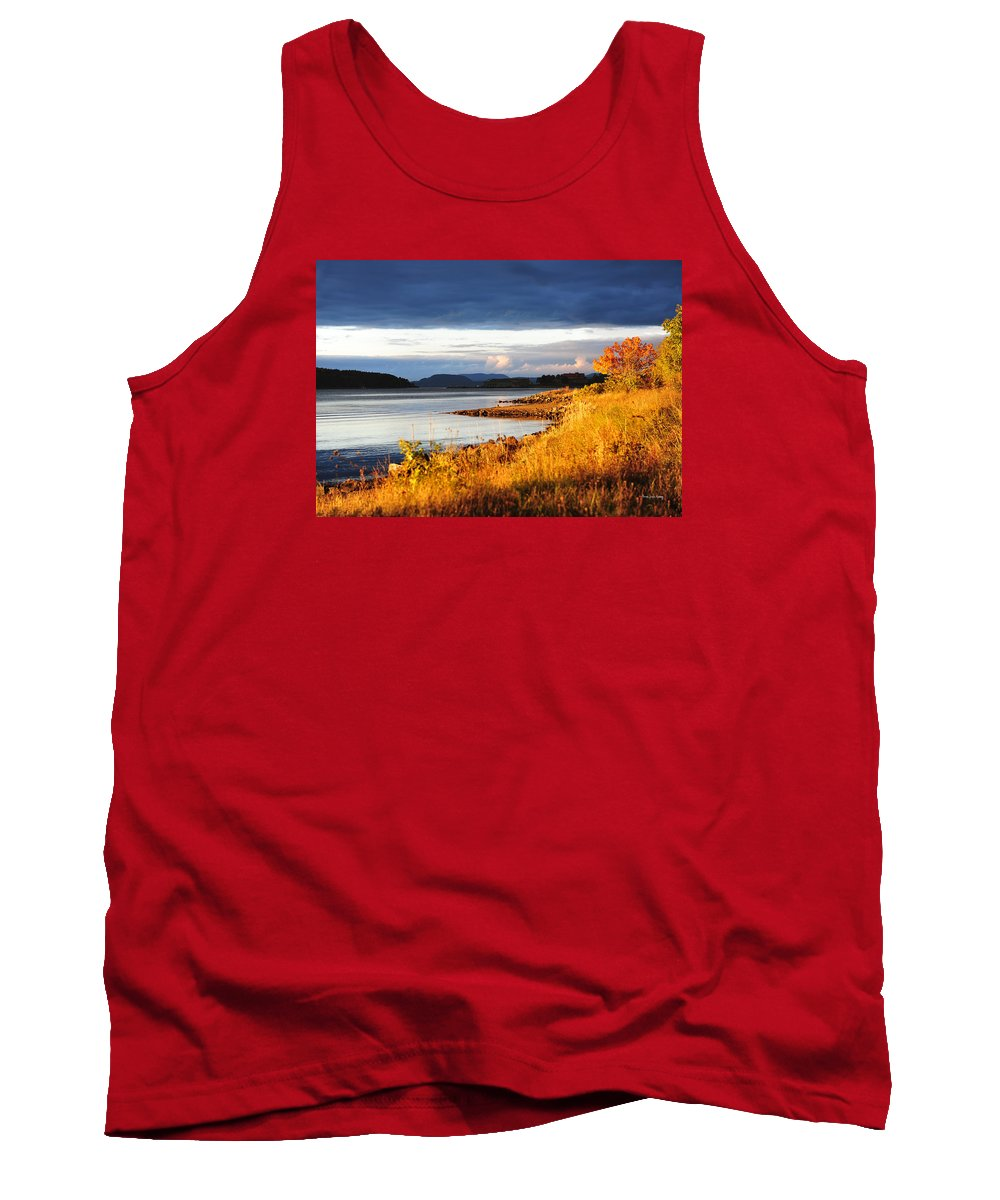 October Tank Top featuring the photograph Breathing The Autumn Air by Randi Grace Nilsberg