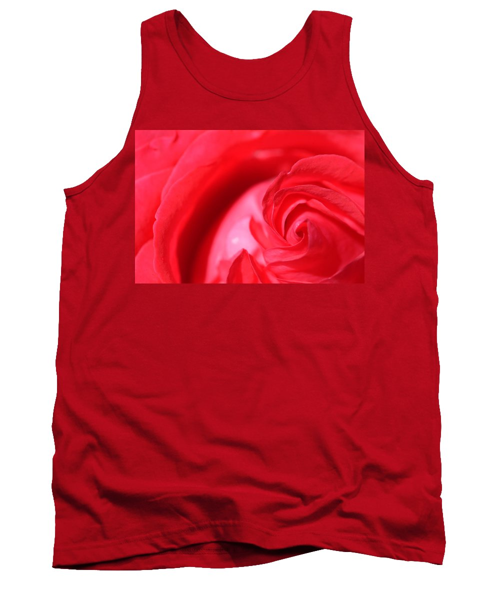 Rose Tank Top featuring the photograph Butler Rose by Michael McGowan