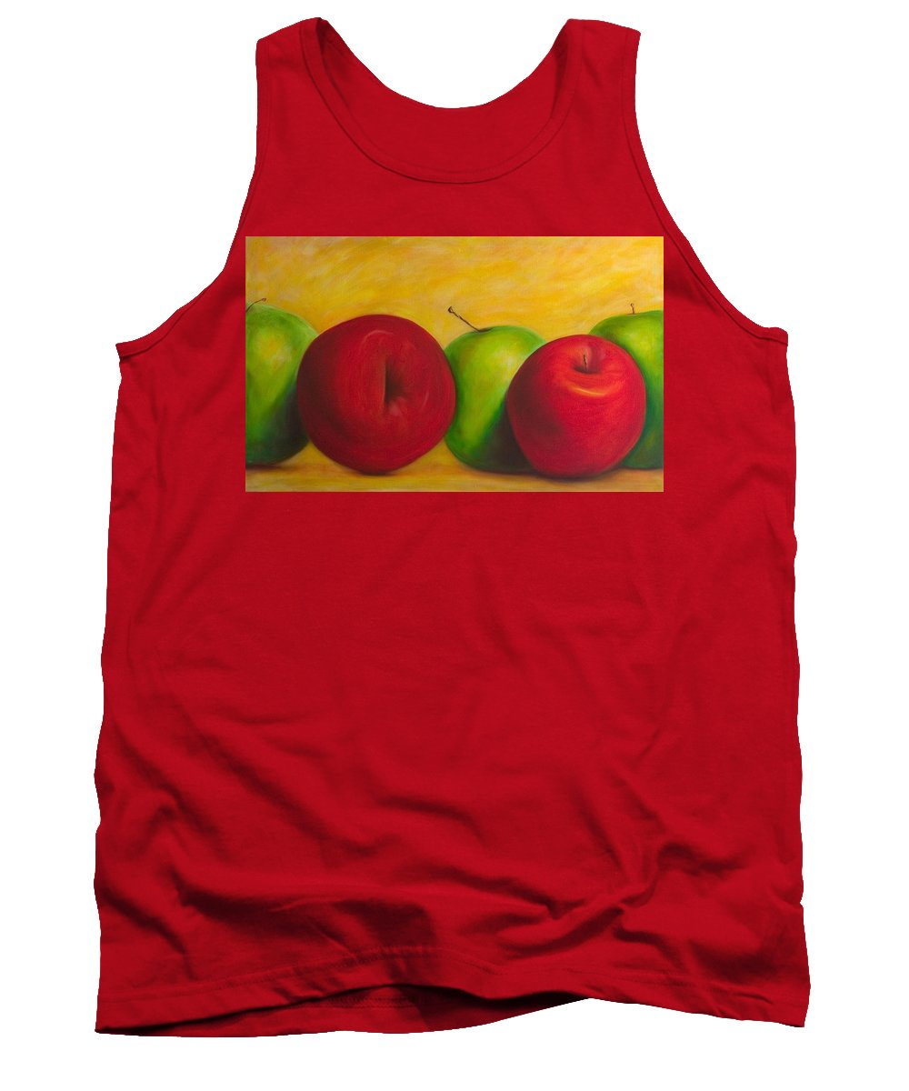 Still Life Tank Top featuring the painting Cancan by Shannon Grissom