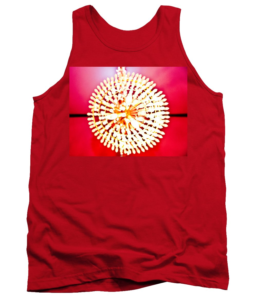 Chandelier Tank Top featuring the photograph Chandelier by Scott Sawyer