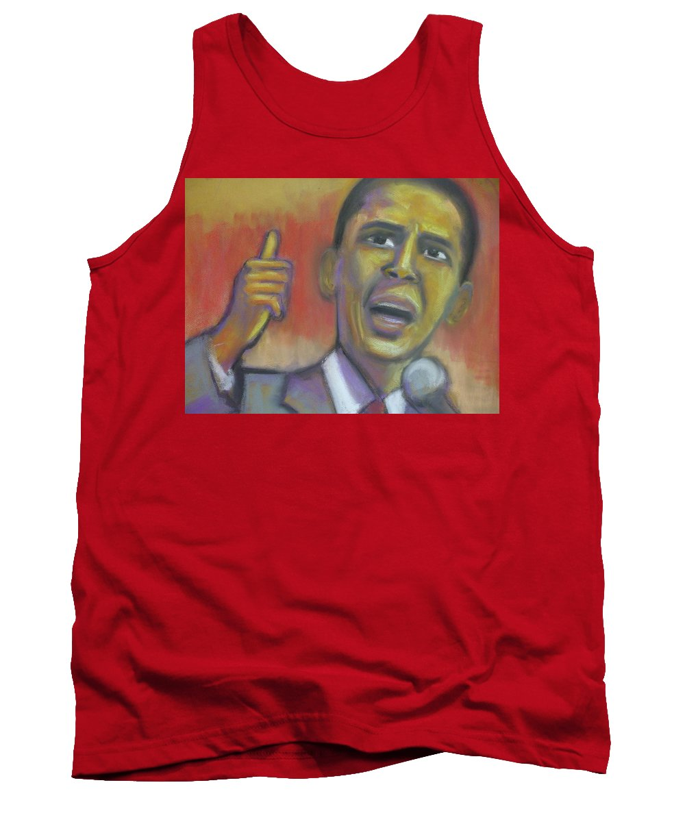 African American Tank Top featuring the drawing Change Is Coming by Jan Gilmore