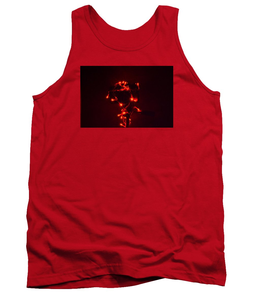 Christmas Lights Tank Top featuring the photograph Christmas Camera by Dimitrios Karras