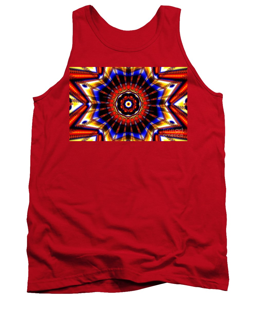 Clay Tank Top featuring the digital art Circus by Clayton Bruster