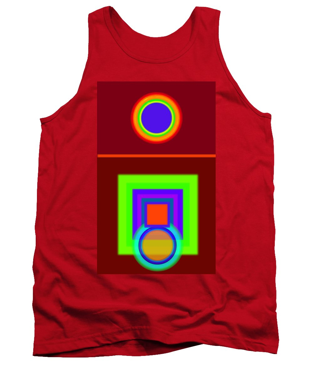 Classical Tank Top featuring the digital art Classical Snack by Charles Stuart