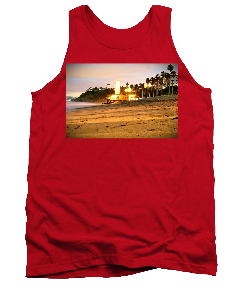 Clock Tower Tank Top featuring the photograph Clock Tower by Stephanie Haertling