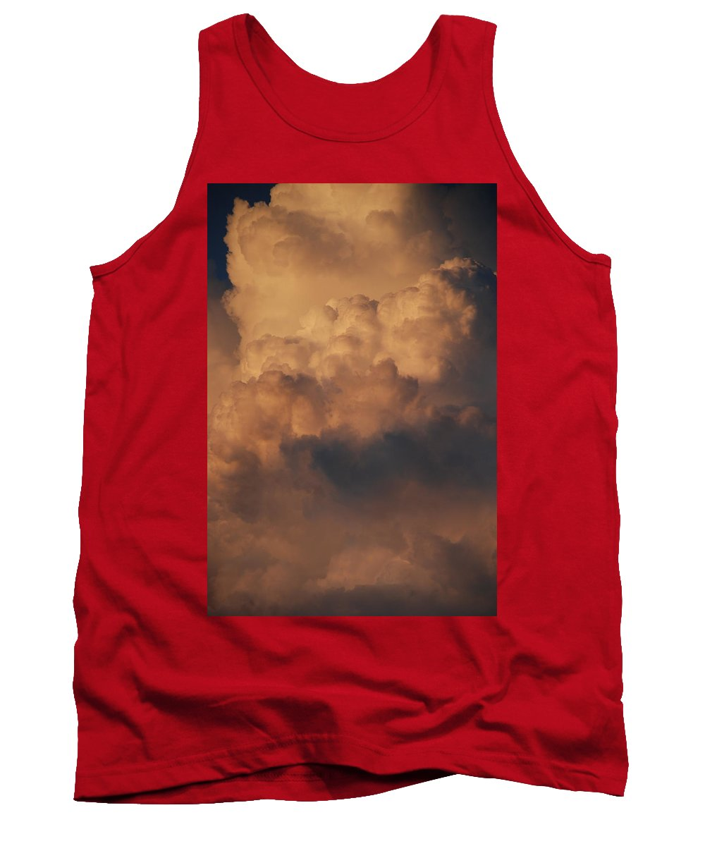 Clouds Tank Top featuring the photograph Clouds In Color by Rob Hans
