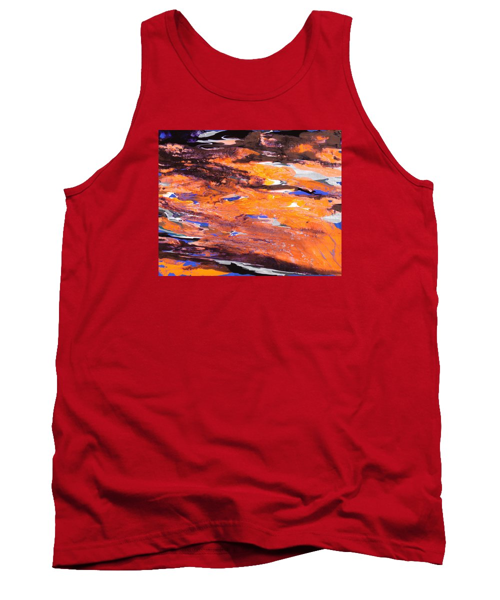 Fusionart Tank Top featuring the painting Clownfish by Ralph White