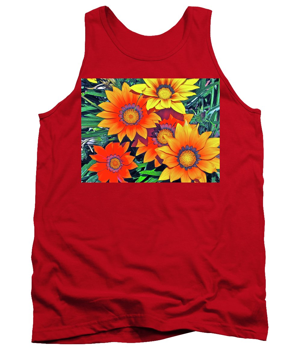 Flowers Tank Top featuring the photograph Color 53 by Pamela Cooper