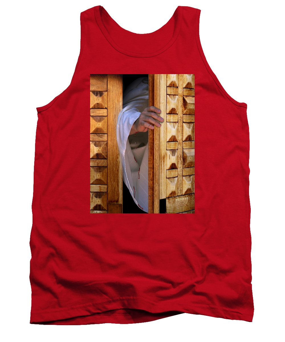 Christ Tank Top featuring the digital art Come by Bill Stephens