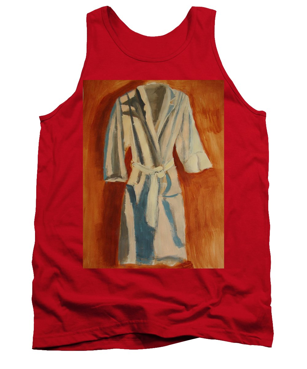 Comfortable Tank Top featuring the painting Comfort Calling by Deby Kalush