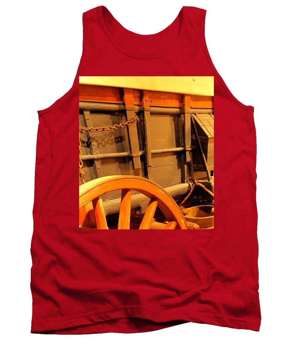 Conestoga Tank Top featuring the photograph Conestoga by Ian MacDonald
