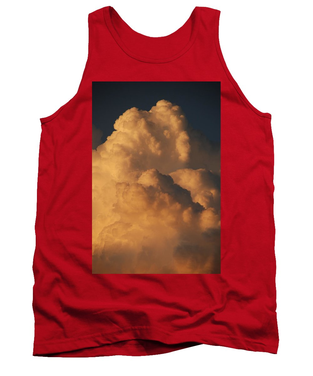 Clouds Tank Top featuring the photograph Coppermouth by Rob Hans