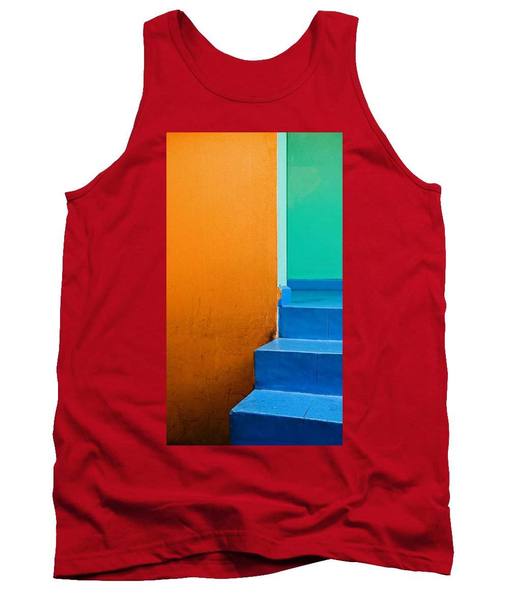 Oaxaca Tank Top featuring the photograph Creamsicle by Skip Hunt