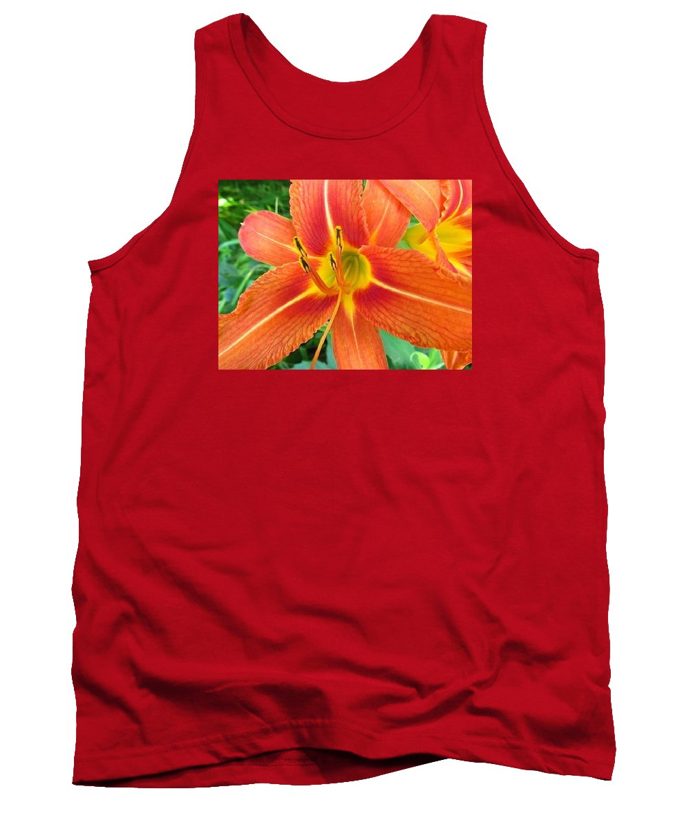 Flower Tank Top featuring the photograph Day Lily by Robert Nacke
