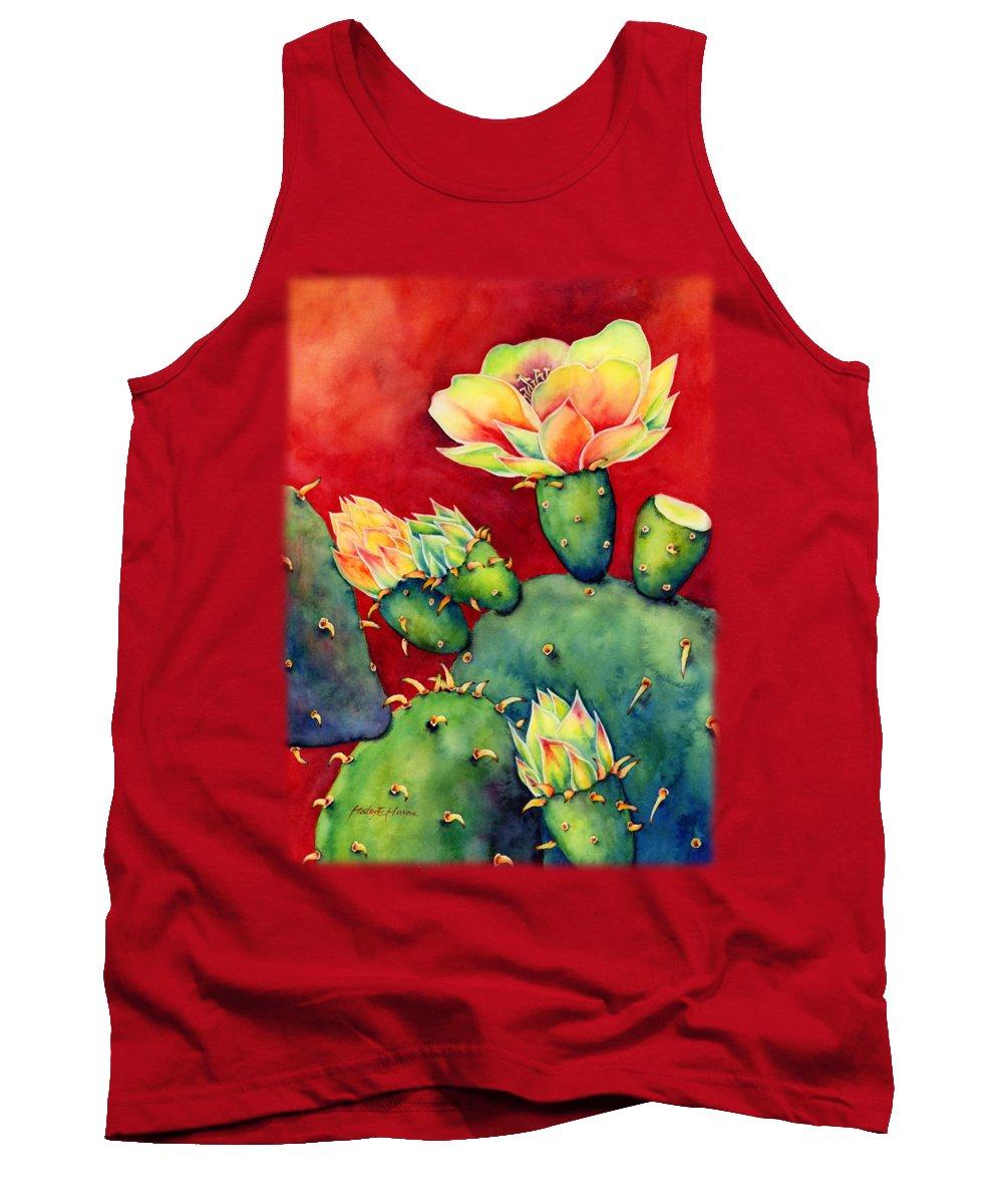 Bloom Paintings Tank Tops