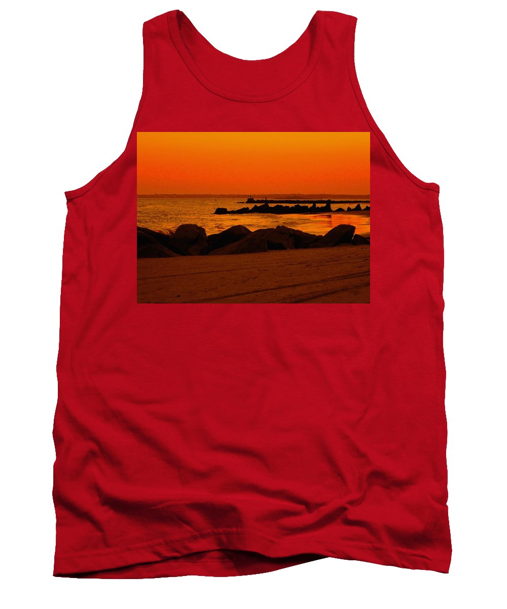 Landscape Tank Top featuring the photograph Desert Skies by Kendall Eutemey