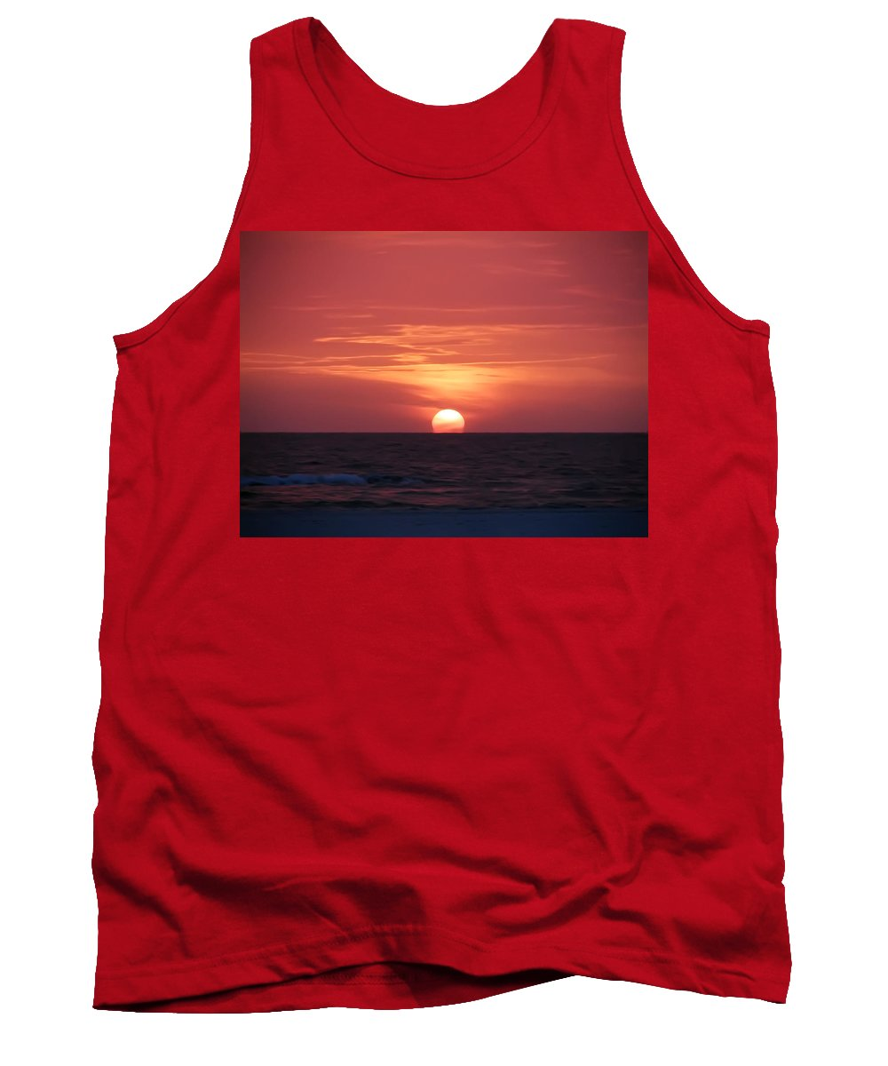 Don't Let The Sun Go Down On Me Tank Top featuring the photograph Don't Let The Sun Go Down On Me by Bill Cannon