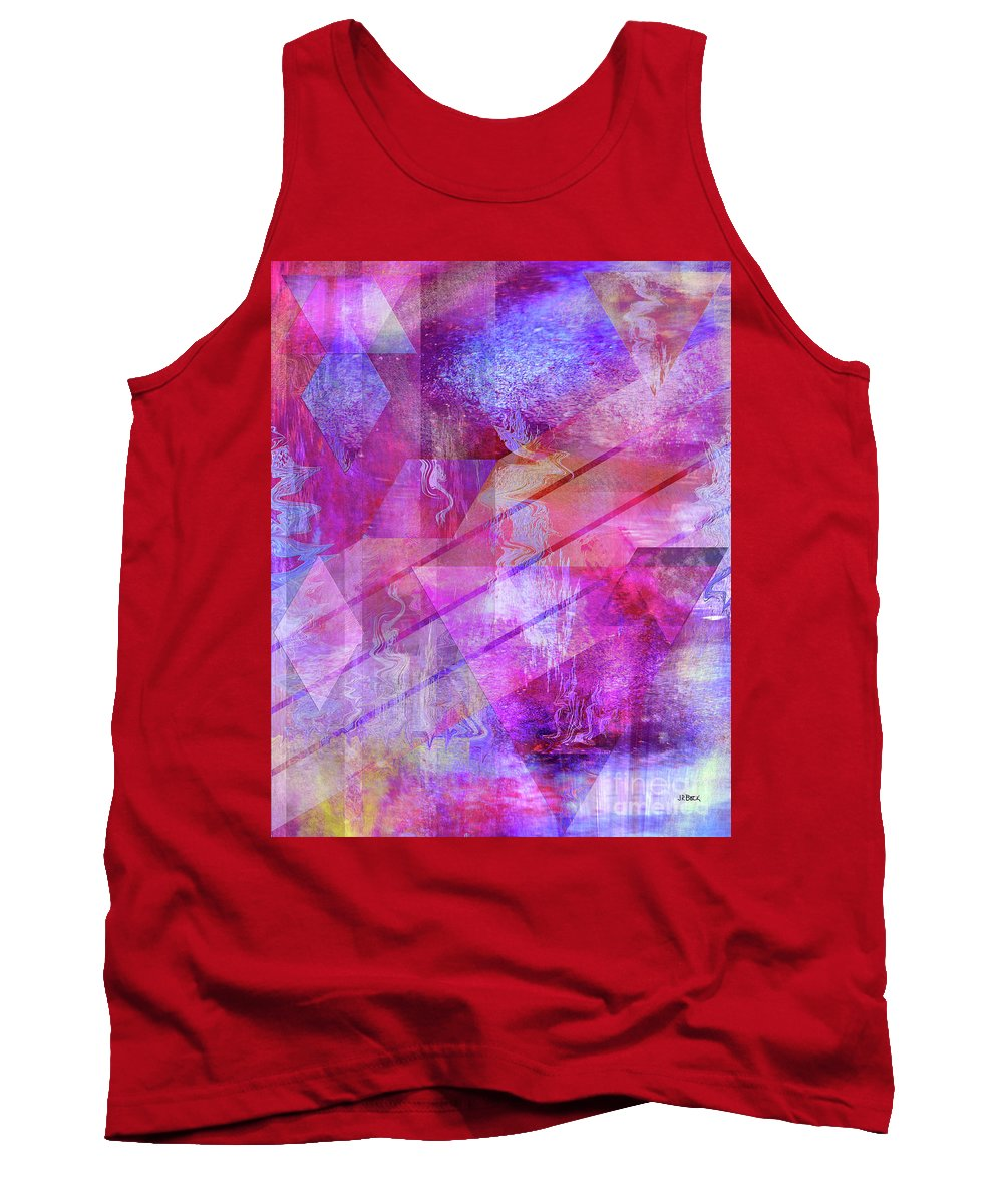 Dragon's Kiss Tank Top featuring the digital art Dragon's Kiss by John Beck
