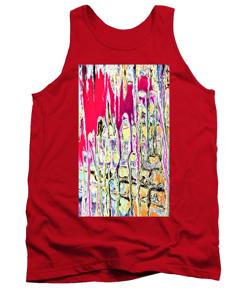 Dream Tank Top featuring the painting Dream On by Jacqueline McReynolds