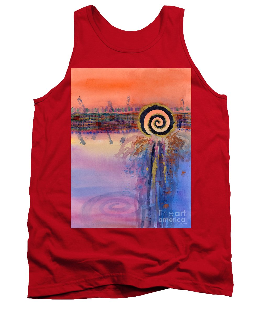 Dream Tank Top featuring the painting Dreamcatcher by Amy Kirkpatrick