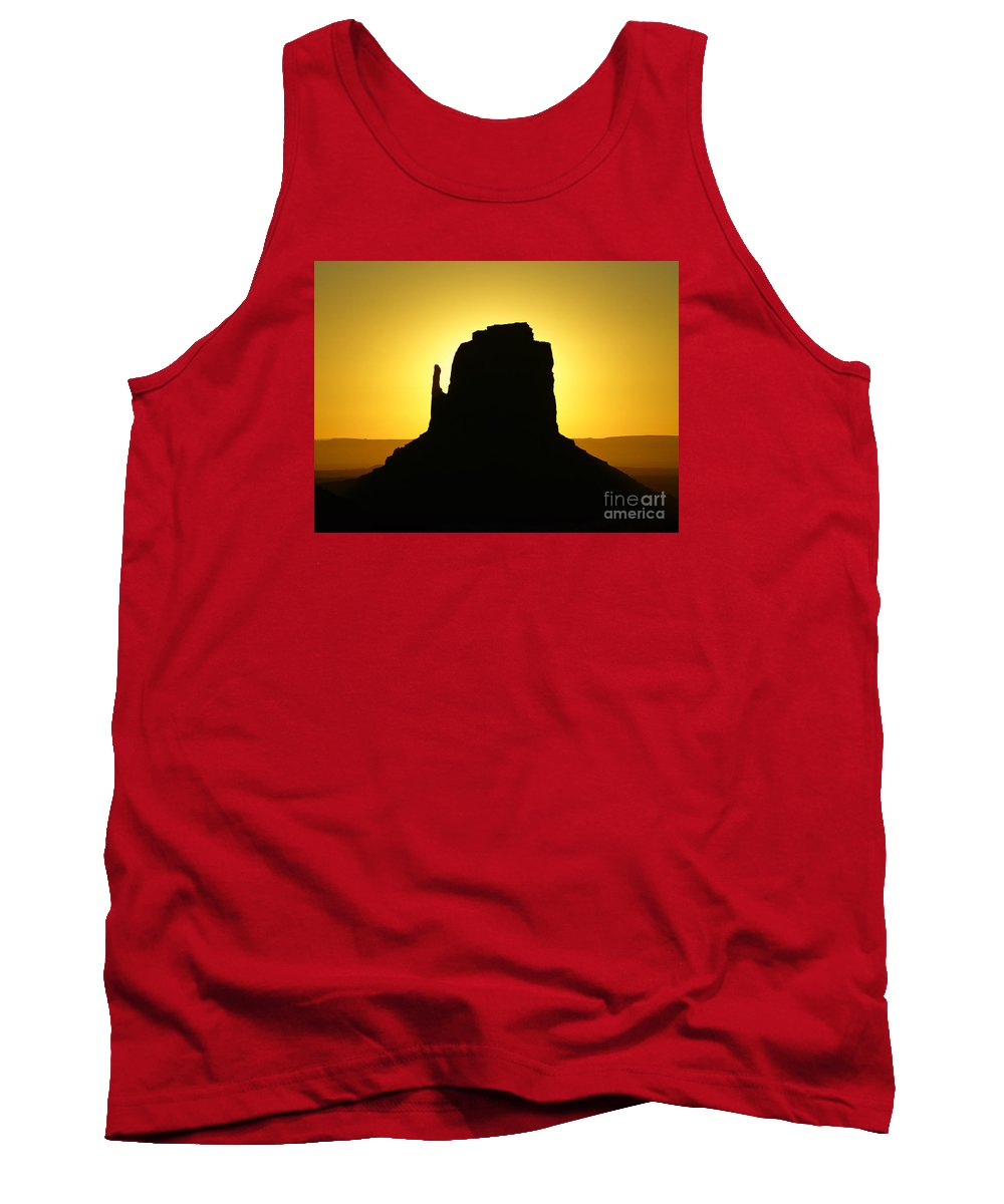 Monument Valley Tank Top featuring the photograph East Mitten Butte by Benedict Heekwan Yang