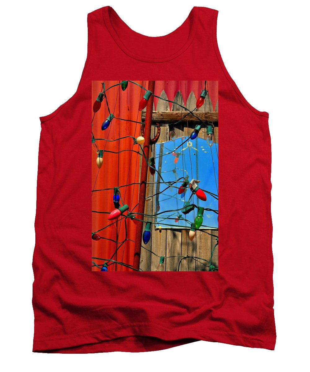 Skip Hunt Tank Top featuring the photograph Electric Lady Land by Skip Hunt