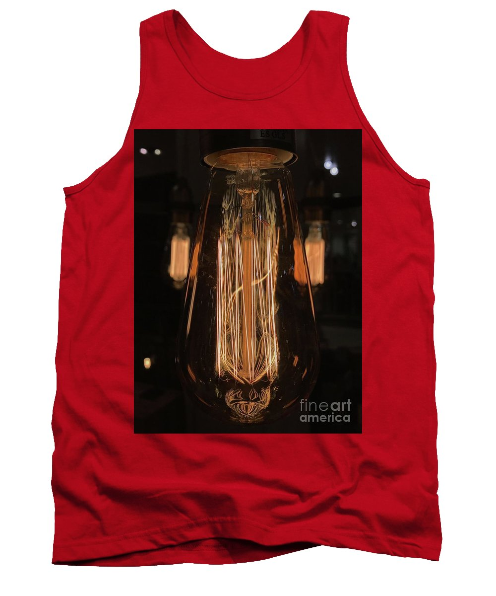Lights Tank Top featuring the photograph Elements by Theo Tucker
