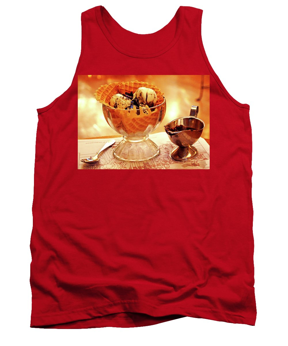 Tank Top featuring the photograph Enticing Eats by Absorb Productions