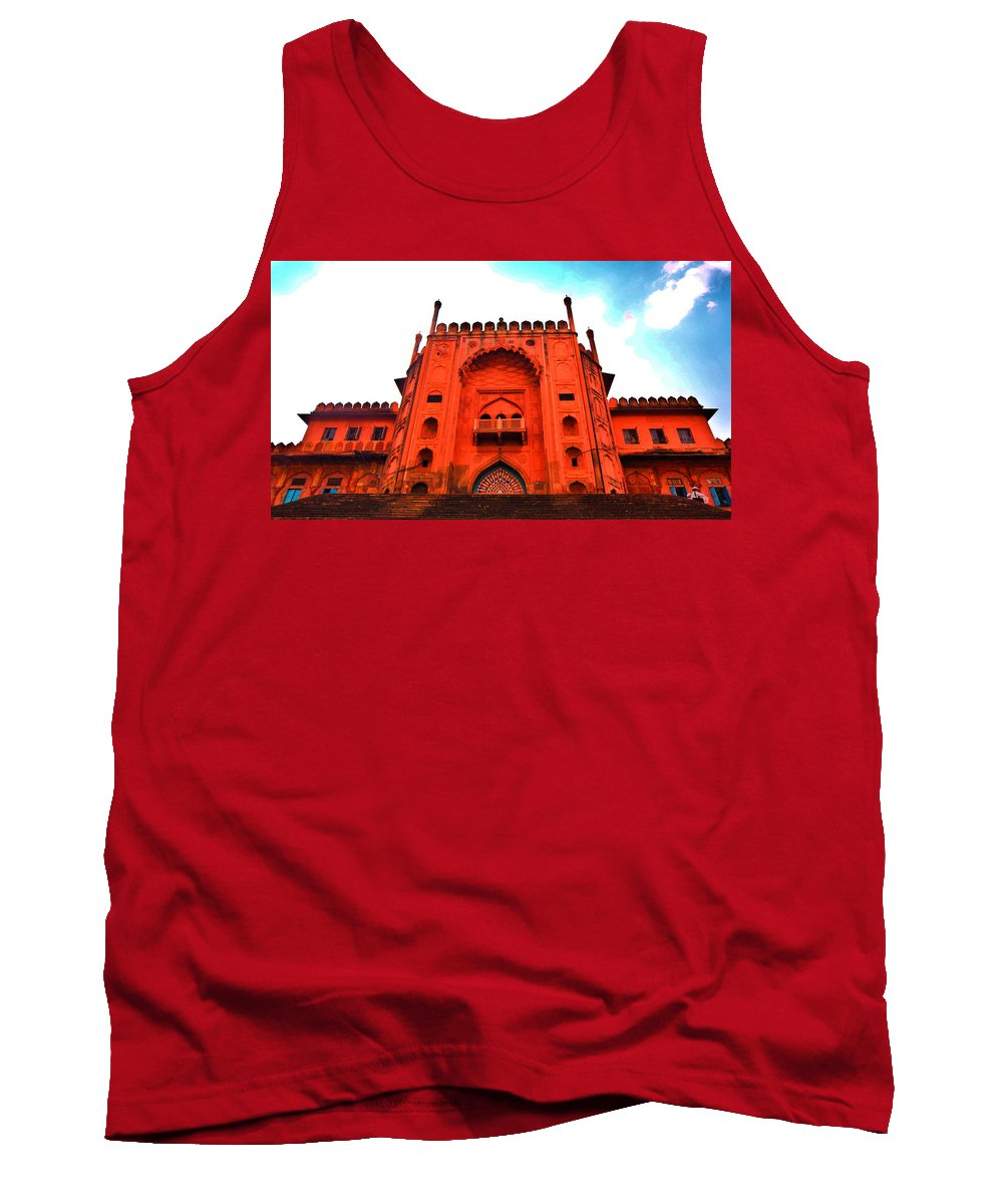 Architecture Tank Top featuring the photograph #Entrance Gate by Aakash Pandit