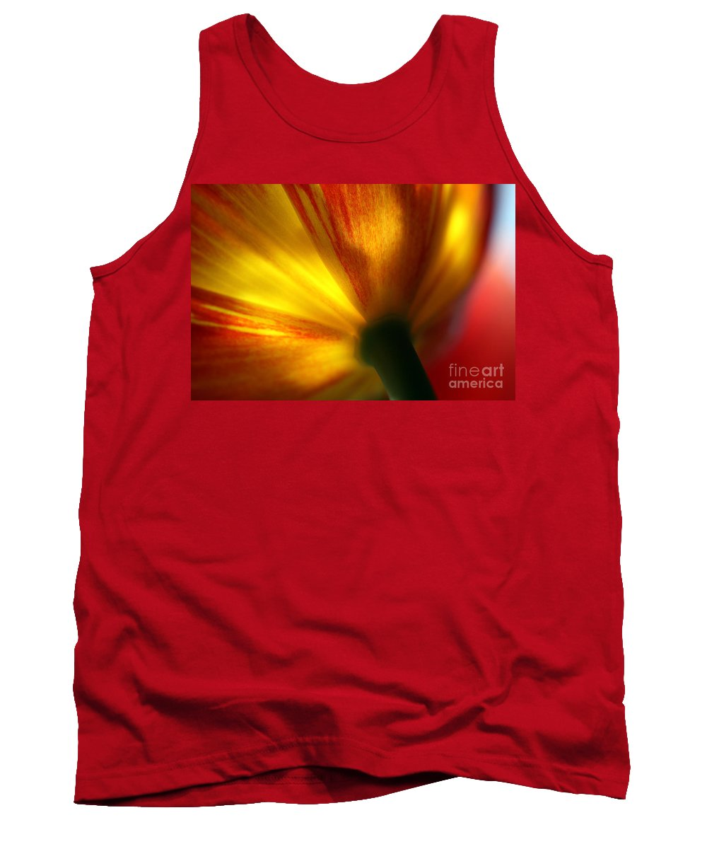Spring Tank Top featuring the photograph Eventually by Amanda Barcon