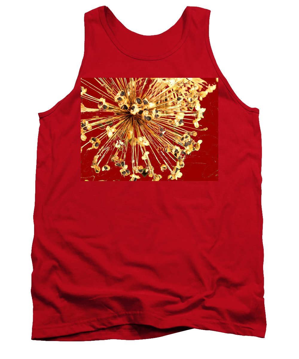 Explosion Tank Top featuring the photograph Explosion Enhanced by Ian MacDonald