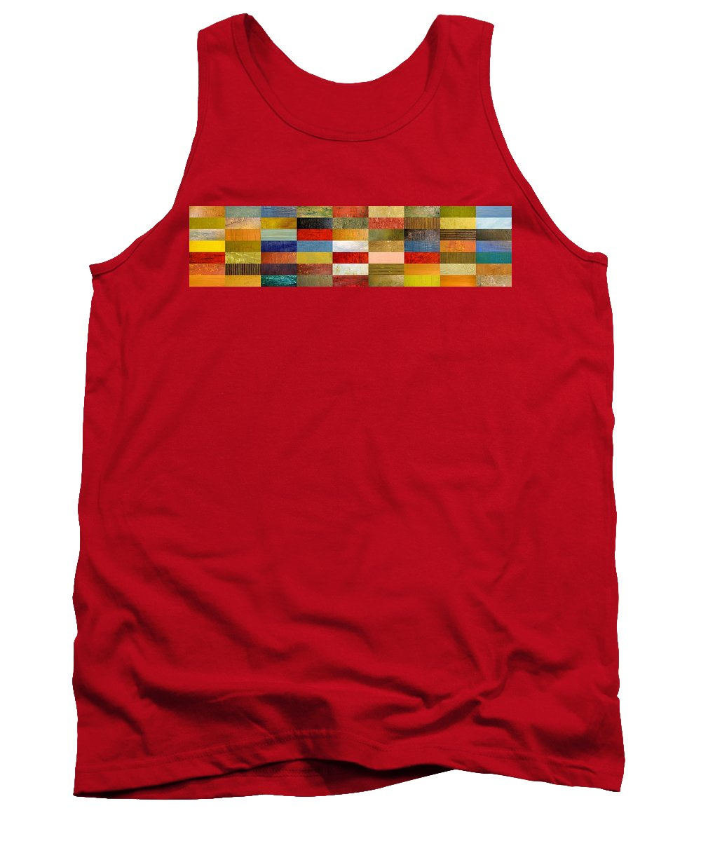 Textural Tank Top featuring the digital art Eye Candy by Michelle Calkins