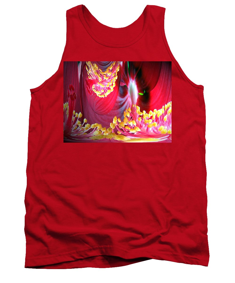 Fairytale Tank Top featuring the photograph Fairytale Forest by Merja Waters