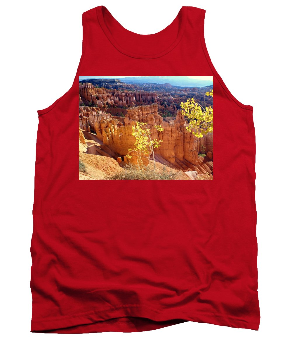 Bryce Canyon National Park Tank Top featuring the photograph Fall In Bryce Canyon by Marty Koch