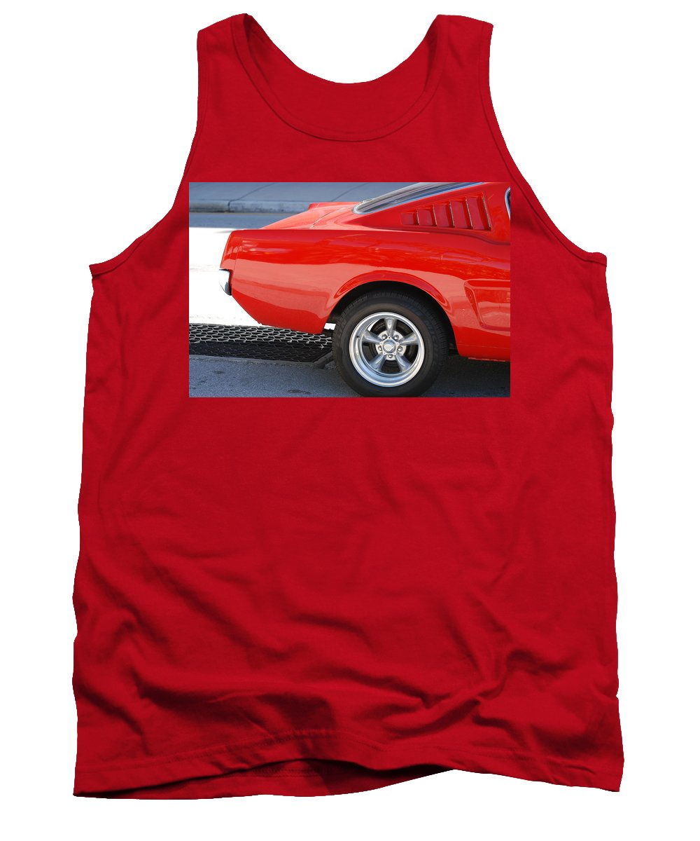 Ford Tank Top featuring the photograph Fastback Mustang by Rob Hans